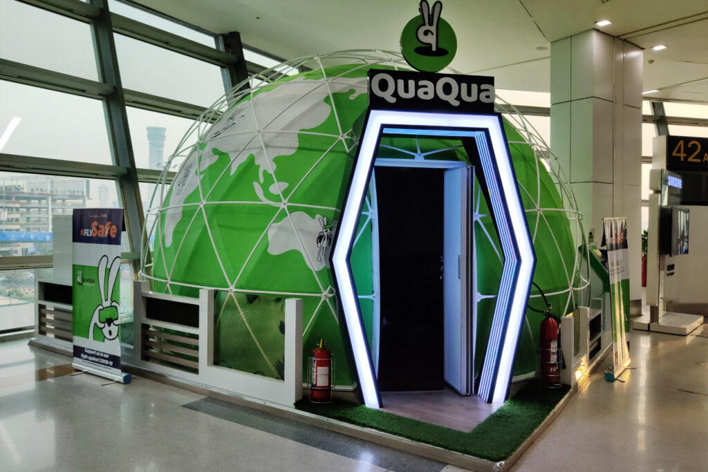 FP Projection Dome Delivers Immersive Trips at India's Top International Airport