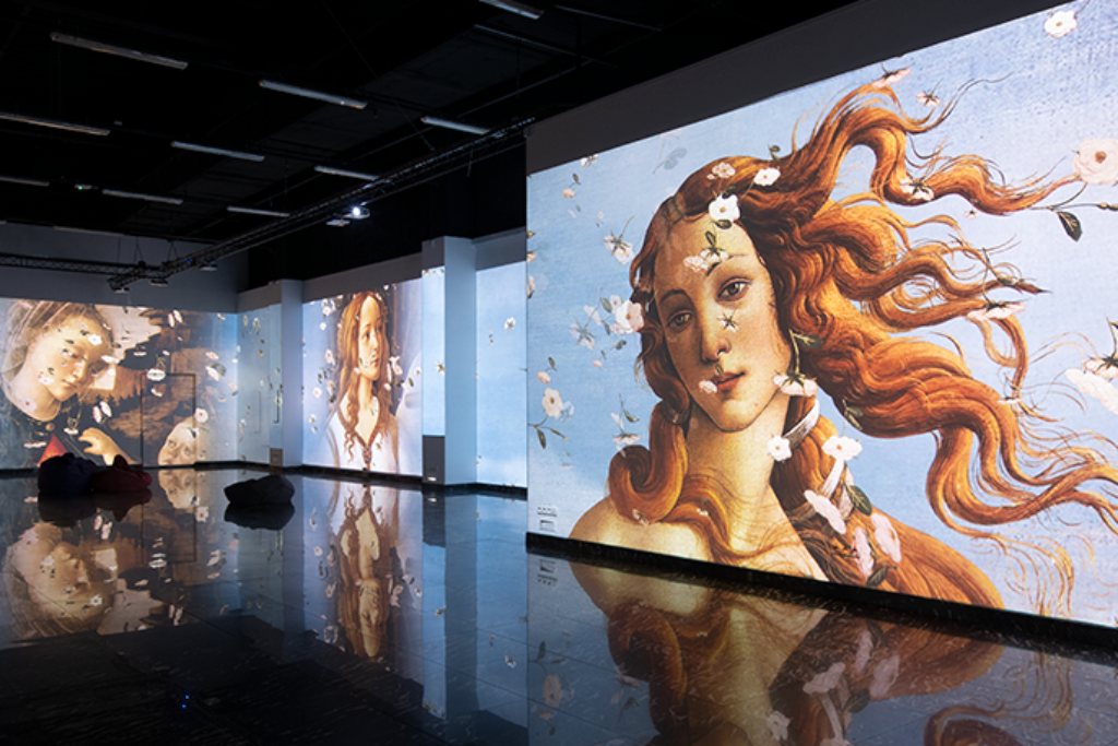 AV Magazine— Renaissance Art brought to life by Front Pictures and Datapath