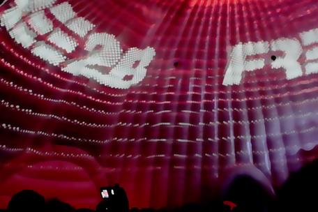 Dome Projection at Marlboro's FREE2BE Tour