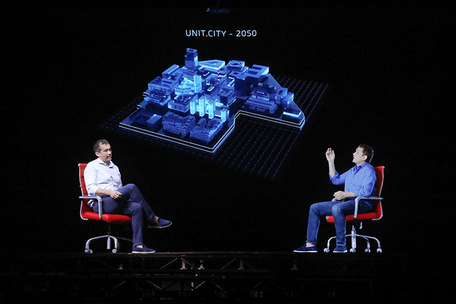 Holographic Presentation for UFuture