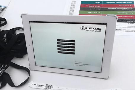 Registration System for Lexus & Toyota