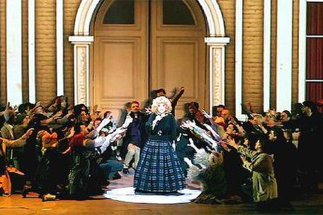 Stage Graphics for Alla Pugacheva Show