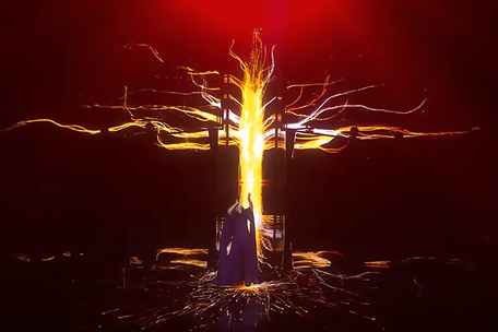 Stage Graphics for Eurovision Winner