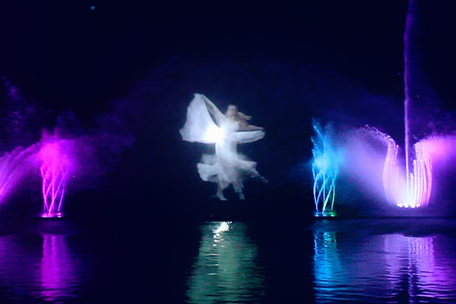 Water Projection Show for Roshen
