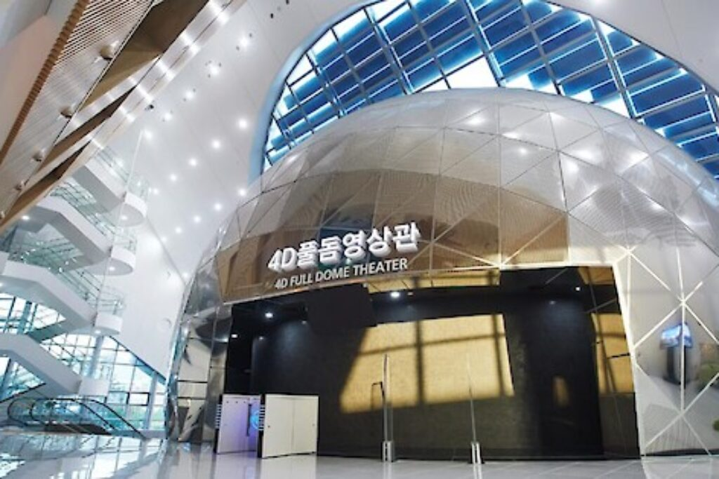 Screenberry Powers 4D Dome Theater At Gimcheon Science Museum