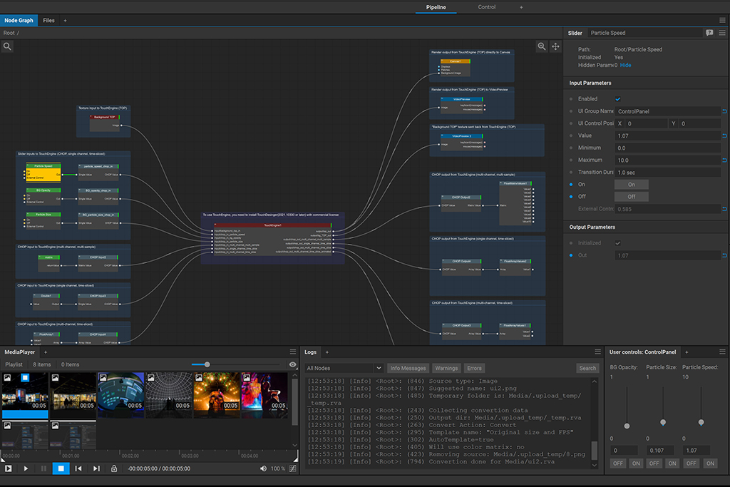 Introducing Touchengine and Front Pictures' Screenberry Integration